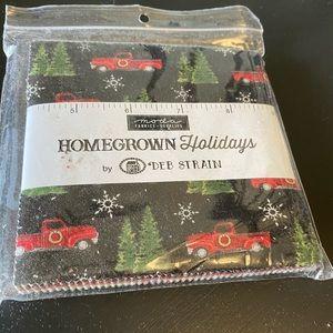 "Homegrown Holidays Moda Fabric Charm Pack 5"""